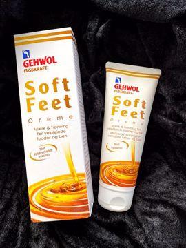 Soft feet cream mælk/honning