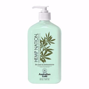 hemp nation lotion, sea salt sandalwood