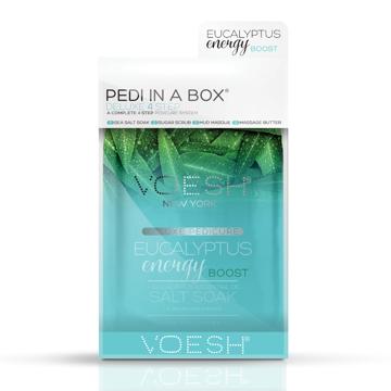 Pedi in a box, eucalyptus energy boost