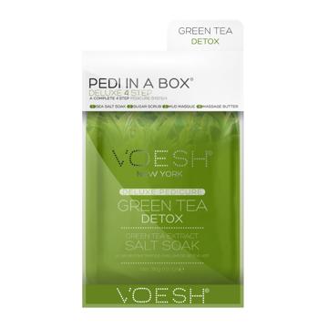 Pedi in a box, green tea detox