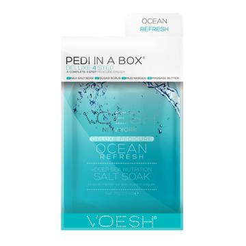 Pedi in a box, ocean