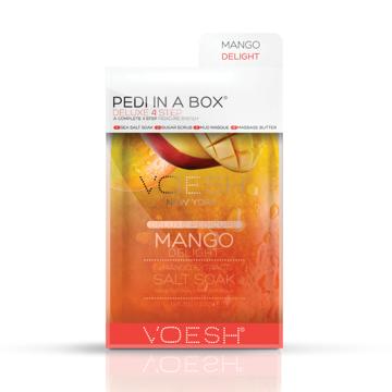 Pedi in a box, mango