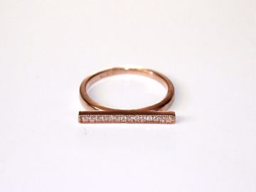 Rosa bar ring
