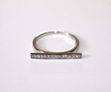 Sølv bar ring