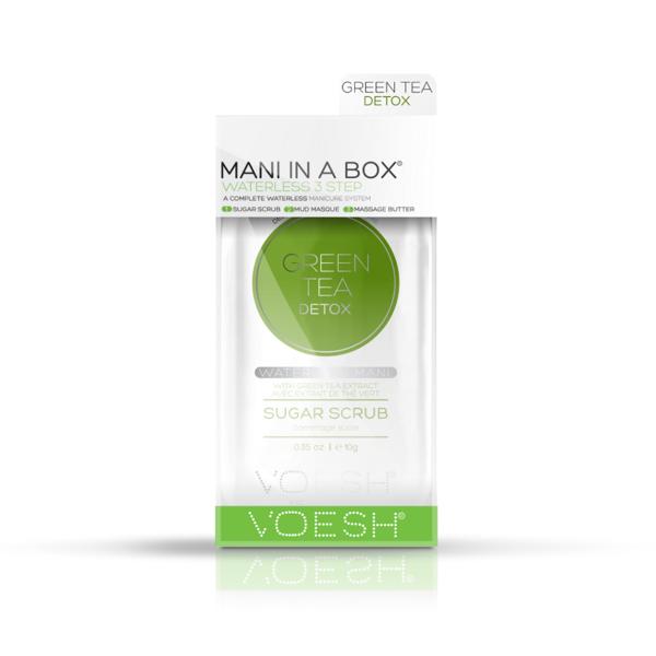 Mani in a box, green tea detox