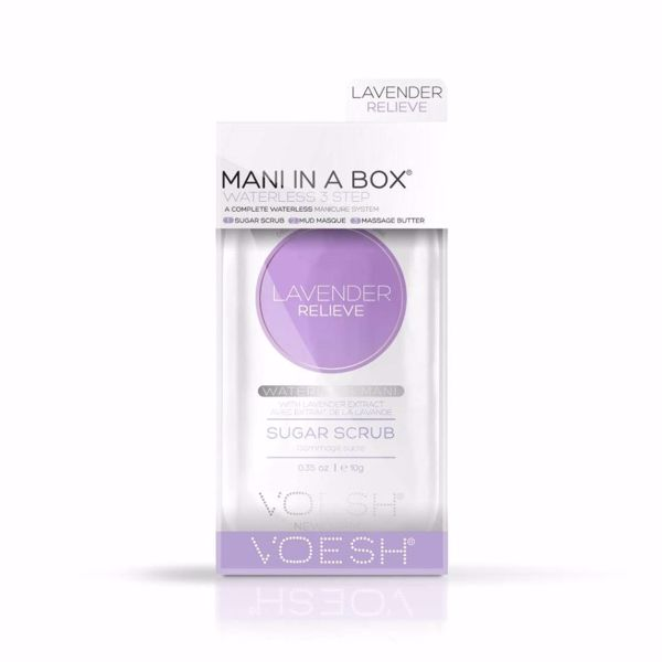 Mani in a box, lavendel relieve